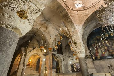 Chapel, Church of the Holy Sepulchre, Old City, Christian Quarter, Jerusalem, Middle East-Eleanor Scriven-Photographic Print