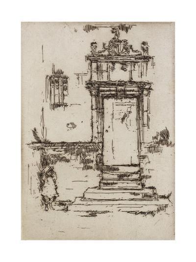 Chapel Doorway, Montresor, 1888-James Abbott McNeill Whistler-Giclee Print