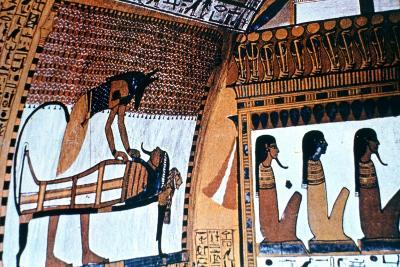 Chapel Interior, Anubis, Thebes, Egypt--Giclee Print