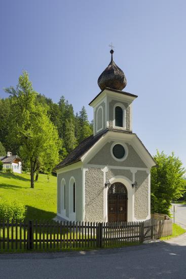 Chapel Near Gstatt Castle, ?blarn, Ennstal, Styria, Austria-Rainer Mirau-Photographic Print