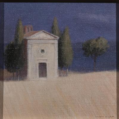 Chapel Near Pienza II, 2012-Lincoln Seligman-Giclee Print
