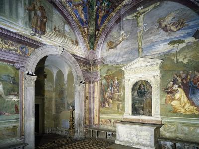 Chapel of Assumption with Frescoes--Giclee Print
