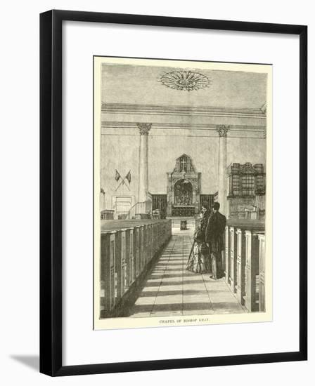 Chapel of Bishop Gray--Framed Giclee Print