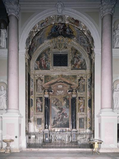 Chapel of Guardian with 1629 Frescoes-Antonio D'Enrico-Giclee Print