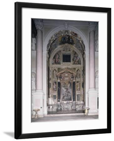 Chapel of Guardian with 1629 Frescoes-Antonio D'Enrico-Framed Giclee Print