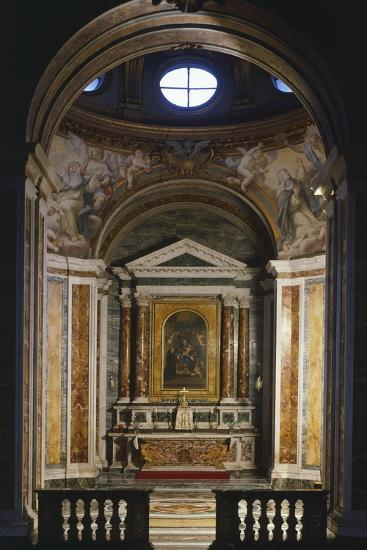 Chapel of St Catherine, Basilica of St Sabine, Rome, Italy, 5th Century--Giclee Print