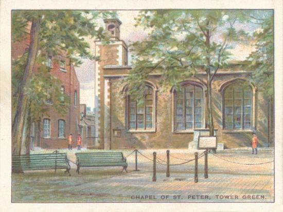 'Chapel of St. Peter, Tower Green', 1929-Unknown-Giclee Print