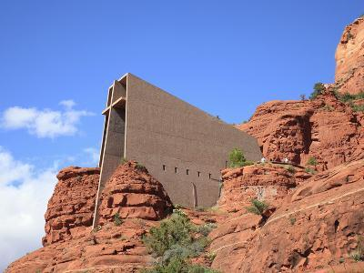 Chapel of the Holy Cross by Marguerite Brunswig Staude, Red Rock Country, Sedona, Arizona, Usa-Savanah Stewart-Photographic Print