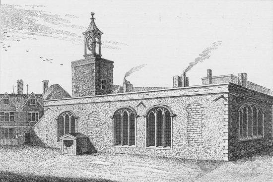 Chapel Royal of St Peter ad Vincula, overlooking Tower Green, London, c1737-Unknown-Giclee Print