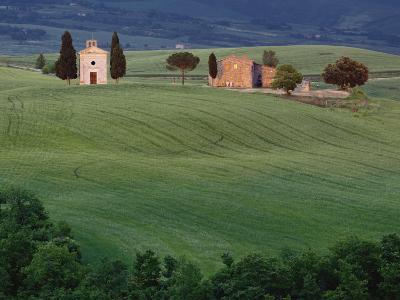Chapel San Quirico d'Orcia, Tuscany, Italy-Adam Jones-Photographic Print