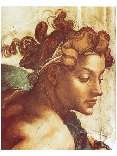 Chapel Sistine, The Drunkenness of Noah (detail)-Michelangelo Buonarroti-Premium Giclee Print