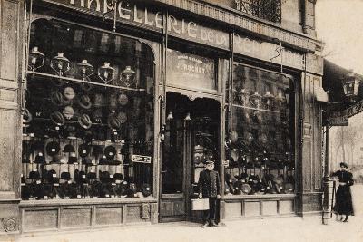 Chapellerie De La République, Maison J. Rochet, 21 Avenue De La République, 1900--Giclee Print
