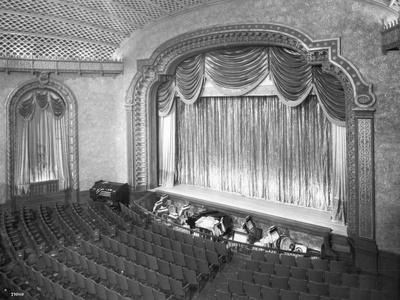 Broadway Theatre Interior, 1927