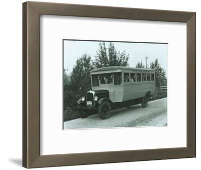 Buckley School Bus, 1927