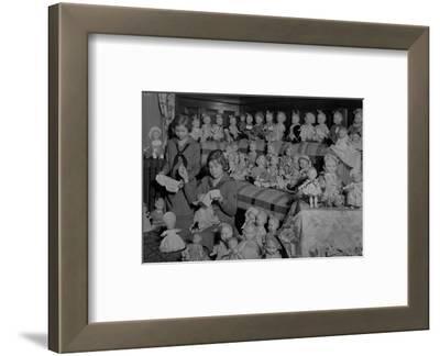 Girl Scouts Repairing Dolls, 1931-1932