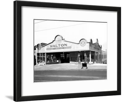 Walton Garage and Service Station, 1926