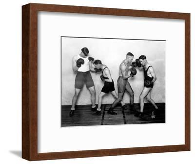 YMCA Boxing Class, Circa 1930