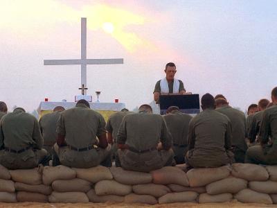 Chaplain Service-Associated Press-Photographic Print