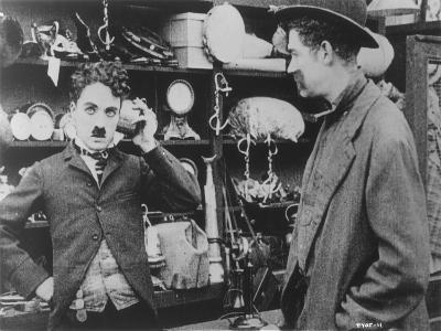 Chaplin: 'The Pawnshop'--Giclee Print
