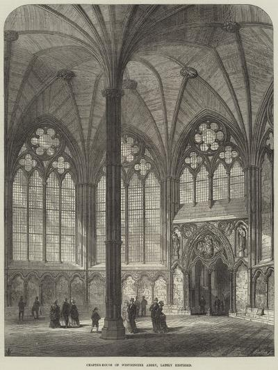 Chapter-House of Westminster Abbey, Lately Restored--Giclee Print