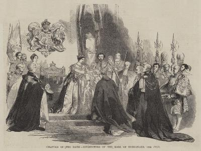 Chapter of the Bath, Investiture of the Earl of Dundonald, 12 July--Giclee Print