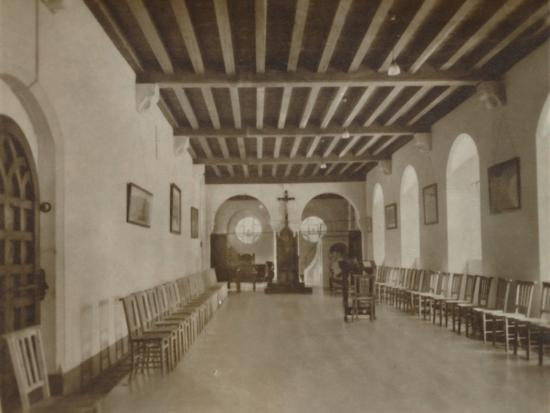 'Chapter Room, Buckfast Abbey', late 19th-early 20th century-Unknown-Photographic Print