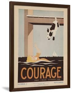 Character Culture Citizenship Guides Original Poster, Courage