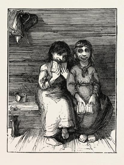 Character Sketches in North Carolina, United States of America: the Young Idea, USA, 1873--Giclee Print
