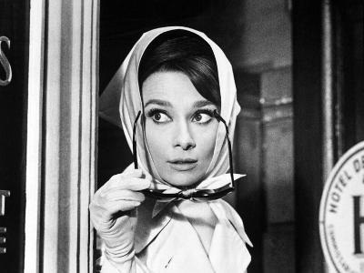 Charade, Audrey Hepburn, Directed by Stanley Donen, 1963--Photographic Print