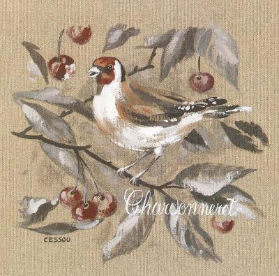Charbonneret-Pascal Cessou-Art Print