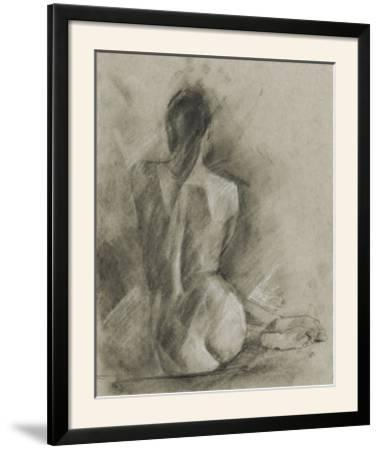 Charcoal Figure Study I-Ethan Harper-Framed Photographic Print