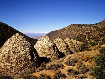 Charcoal Kilns Near Telescope Peak in the Panamint Mountains, Death Valley National Park, CA-Bernard Friel-Photographic Print