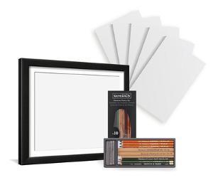Charcoal Kit and Frame