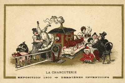 Charcuterie--Giclee Print