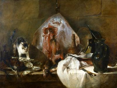 Chardin: The Skate-Jean-Baptiste Simeon Chardin-Giclee Print