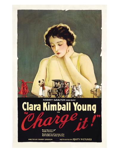 Charge It - 1921--Giclee Print