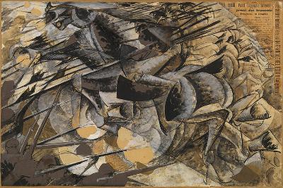 Charge Lancers - Cavalry Charge (Carica Di Lancieri - Carica Di Cavalleria)-Umberto Boccioni-Giclee Print