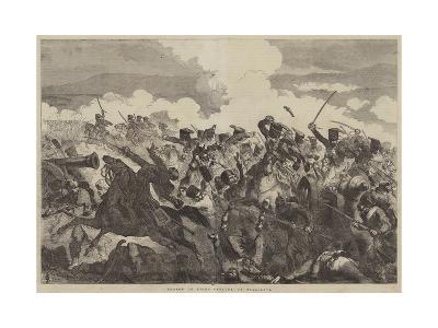 Charge of Light Cavalry, at Balaclava-Sir John Gilbert-Giclee Print