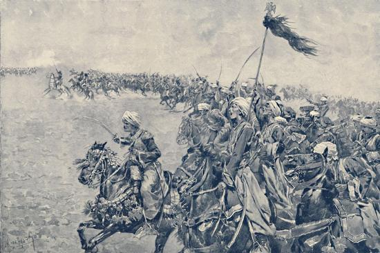 'Charge of the Mamelukes at the Battle of Austerlitz', 1896-Unknown-Giclee Print