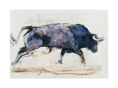 Charging Bull, 1998-Mark Adlington-Giclee Print