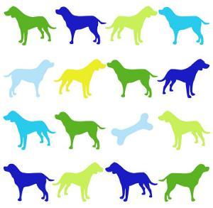 Animal Sudoku in Blue III by Chariklia Zarris