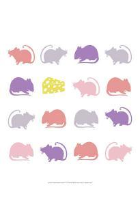 Animal Sudoku in Pink V by Chariklia Zarris