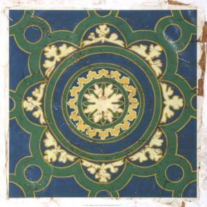 Antiqued Cloisonne I by Chariklia Zarris