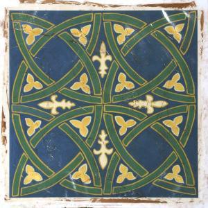 Antiqued Cloisonne II by Chariklia Zarris