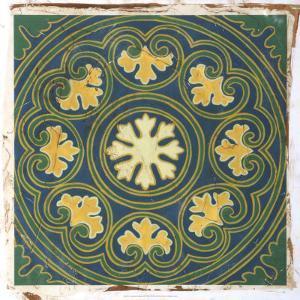 Antiqued Cloisonne III by Chariklia Zarris