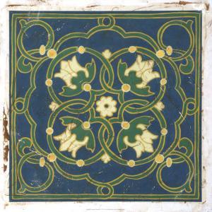 Antiqued Cloisonne VI by Chariklia Zarris