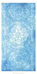 Cobalt Deco Panel II by Chariklia Zarris