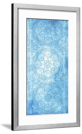 Cobalt Deco Panel II