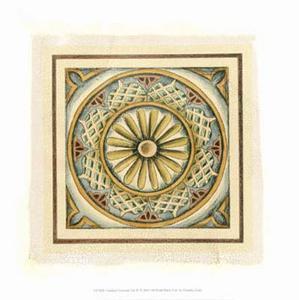 Crackled Cloisonne Tile IV by Chariklia Zarris