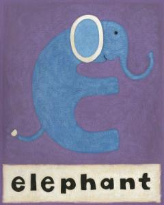 E is for Elephant by Chariklia Zarris